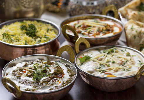Moghul, Belfast, curries and rice