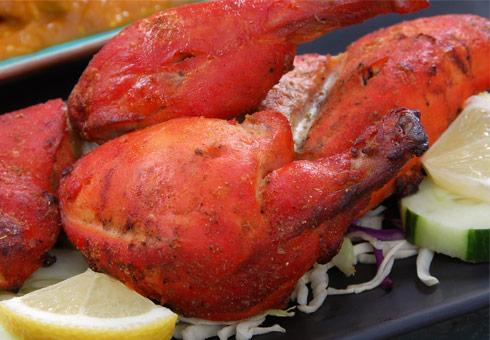 Moghul, Belfast, tandoori chicken