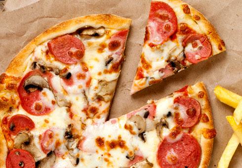 Sonali, Blackburn, delicious pizza options