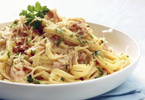 Marcantonio Hamilton traditional pasta dish