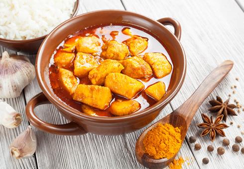 Chilli & Spice Dorking succulent chicken curries