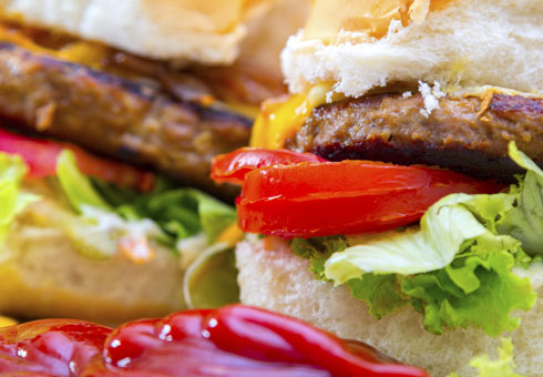 Dinaz Pizza Birmingham quarter pound cheeseburger