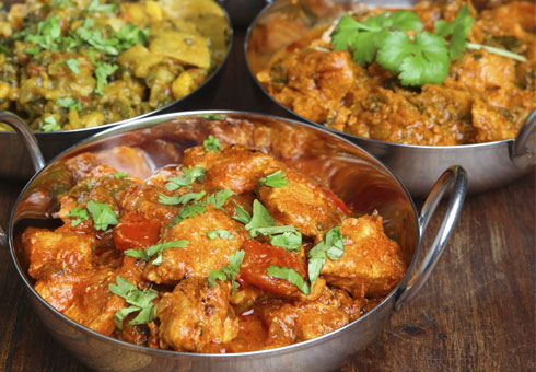 Traditional curries