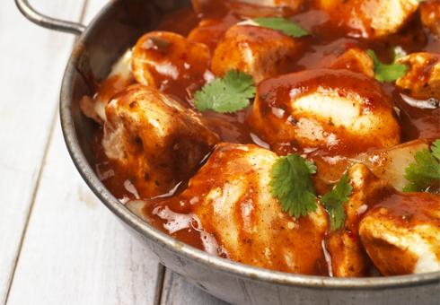 Belash Tandoori, Maidstone, curries and rice