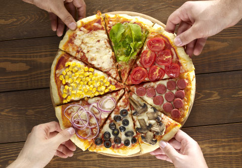 Chicago's Pizza N Town, Croydon, delicious pizza options