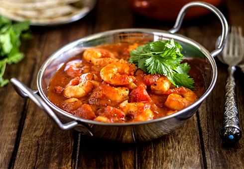 Panshi Stevenage, chicken curry on the bone