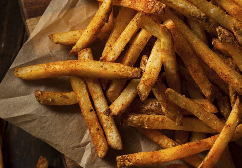 Peri Peri Sizzler Bath crispy seasoned fries