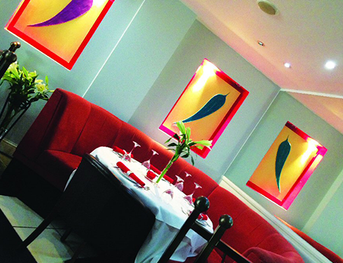 Inside Seating Area, Taj Mahal 2 - Chelmsford