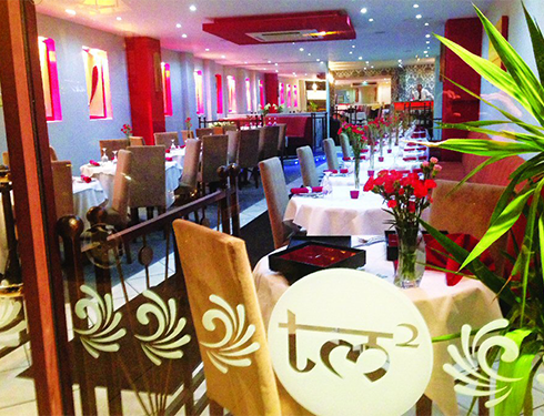 Seating Area, Taj Mahal 2 - Chelmsford