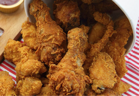 Pizza World Coventry crispy fried chicken portions