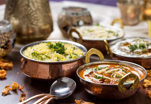 Adil Spice Tandoori, Romford, curries and rice
