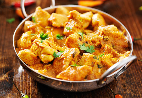 Maheens Ammanford creamy chicken curries available to order