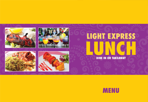 Our Light Lunch Menu at Cinnamon Spice, Kent.