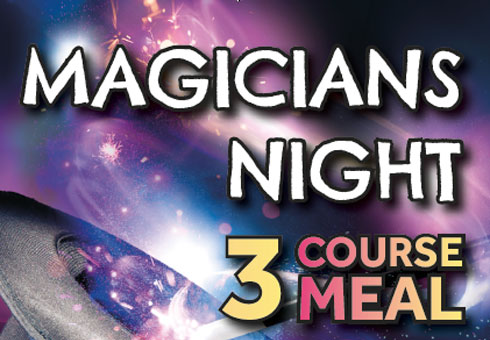 Magicians Night at Cinnamon Spice, Kent.