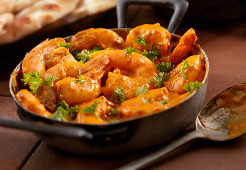 Curries at Spice of Life Falkirk