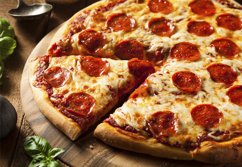 Enjoy a pizza at Spice of Life Falkirk
