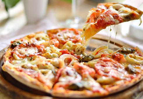BasilCo, Cardiff, pizza