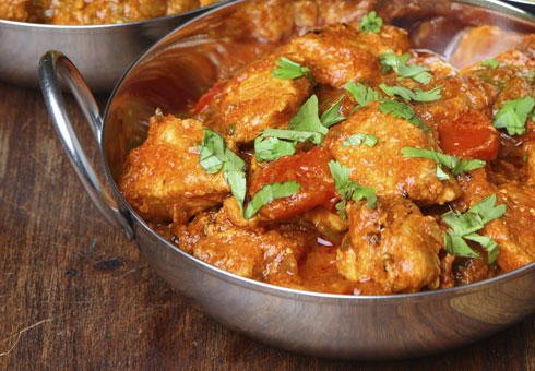 Kashmir Tandoori Shiremoor Newcastle fresh authentic chicken balti made with breast chunks