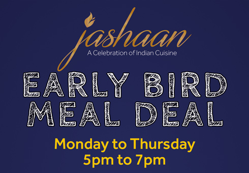 Jashaan Early Bird Flyer