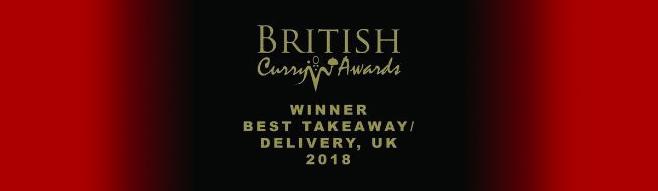 British Curry Awards Winner