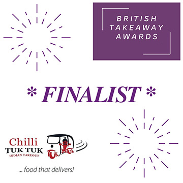 British Takeaway Awards Finalist