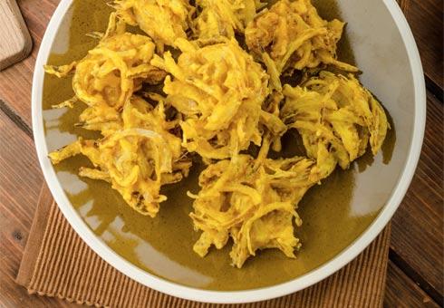 Haweli, Smethwick, onion bhaji