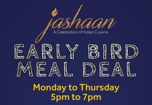 Jashaan Early Bird Flyer
