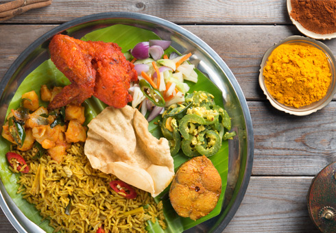 Indian takeaway located on Amersham road in high wycombe