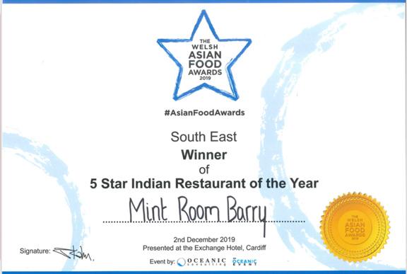 Mint Room Barry