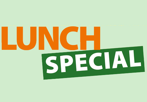 Our Lunch Special Menu at Cinnamon Spice, Kent.