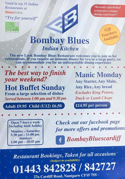Bombay Blue, Nantgarw